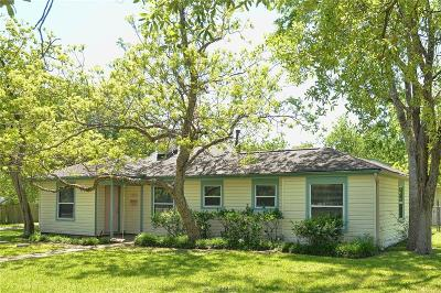 College Station Single Family Home For Sale: 1022 Puryear