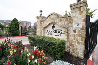 College Station TX Condo/Townhouse For Sale: $243,900