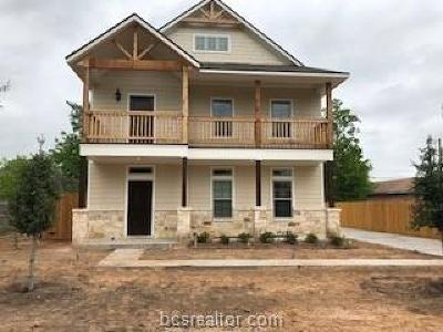 College Station Single Family Home For Sale: 124 Richards Street #A