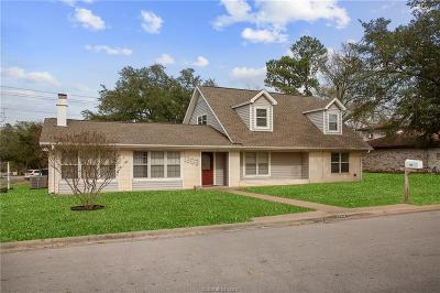 College Station Single Family Home For Sale: 1303 Langford Street
