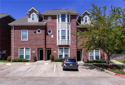 College Station Condo/Townhouse For Sale: 305 Holleman Drive #903