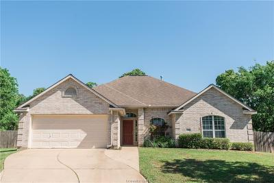 Bryan TX Single Family Home For Sale: $222,500
