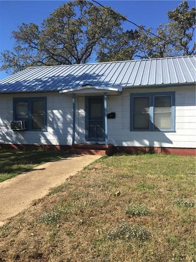 Hearne Single Family Home For Sale: 809 East Davis Street