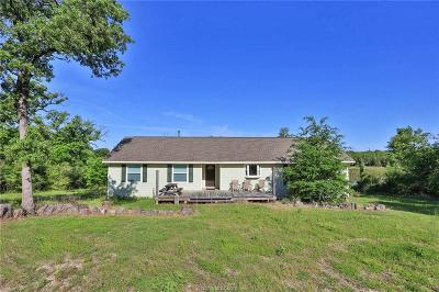 Burleson County Single Family Home For Sale: 9850 Private Road 1014 (+-46 Ac)