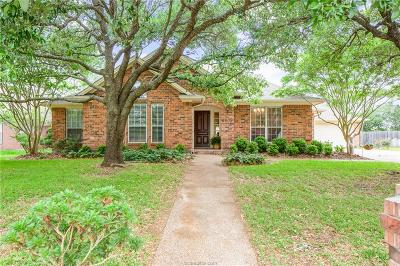 College Station Single Family Home For Sale: 2909 Aztec Court