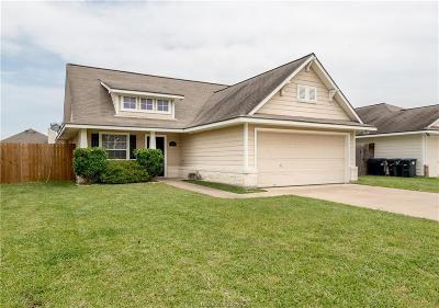 College Station TX Single Family Home For Sale: $192,500