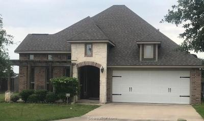 College Station Single Family Home For Sale: 3801 South Wild Horse Creek Court
