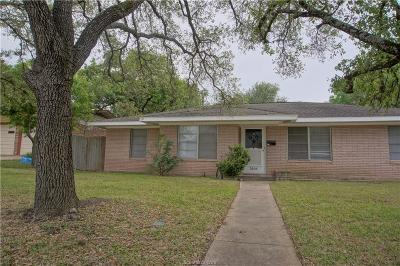 Bryan TX Single Family Home For Sale: $299,000