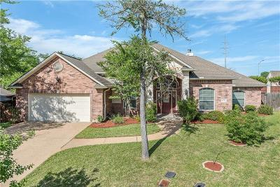Brazos County Single Family Home For Sale: 4445 Woodland Ridge Court