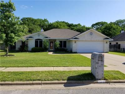 Bryan , College Station  Single Family Home For Sale: 4014 Settlers