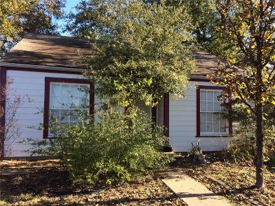 College Station TX Single Family Home For Sale: $248,000