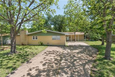 Brazos County Single Family Home For Sale: 415 Gilbert Street