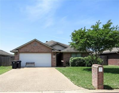 Brazos County Single Family Home For Sale: 3504 Farah Drive