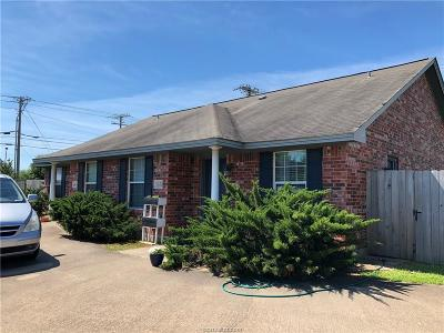 Bryan , College Station Multi Family Home For Sale: 3632-3634 Hollyhock Street