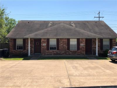 Bryan , College Station Multi Family Home For Sale: 932-934 Sun Meadow Street