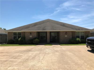 Bryan , College Station Multi Family Home For Sale: 3725-3727 Oldenburg Lane