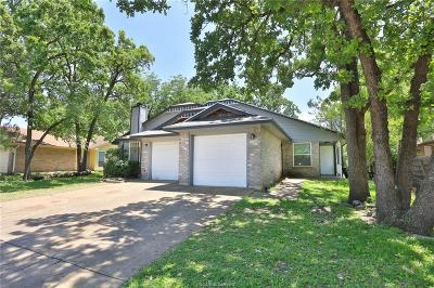 Bryan , College Station Single Family Home For Sale: 630 San Mario Court