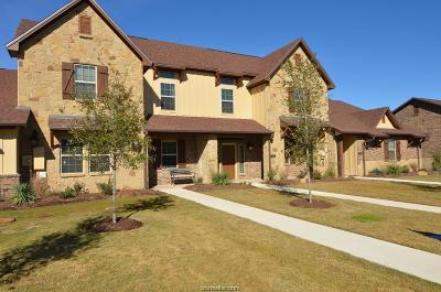 College Station Condo/Townhouse For Sale: 3318 Travis Cole Street