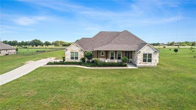 Bryan Single Family Home For Sale: 6890 C6 Ranch Road