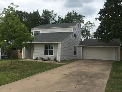 Brazos County Single Family Home For Sale: 4207 Cheyenne Circle