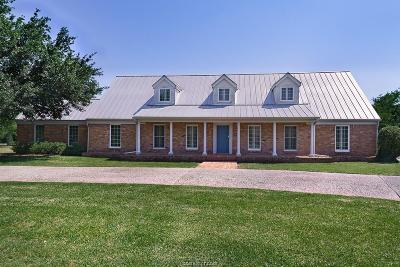 Bryan Single Family Home For Sale: 3505 Parkway Terrace