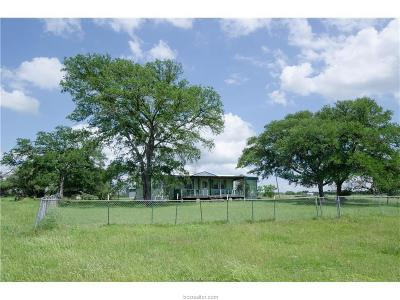 Caldwell Single Family Home For Sale: 3290 Private Road 3011-50 Acres