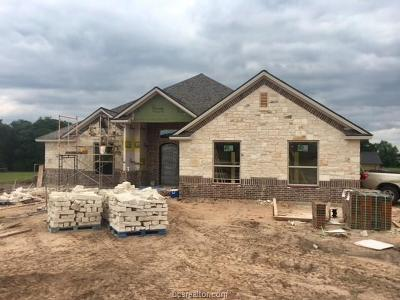 Bryan Single Family Home For Sale: 4971 Blazing