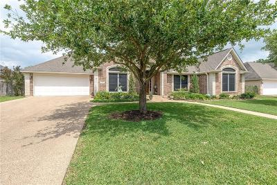 College Station Single Family Home For Sale: 8406 Turtle Rock