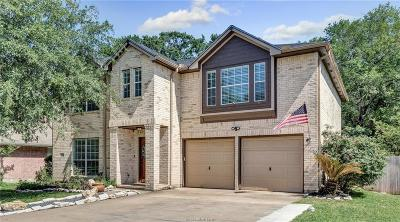 College Station Single Family Home For Sale: 1726 Starling Drive
