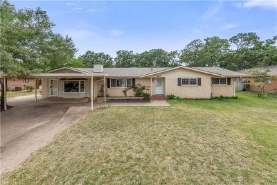 Brazos County Single Family Home For Sale: 2316 Wayside Drive