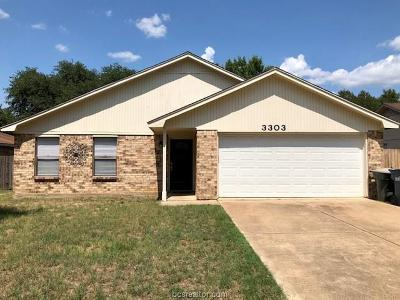 College Station Single Family Home For Sale: 3303 Coastal Drive