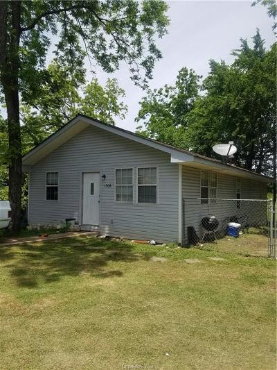 Bryan Single Family Home For Sale: 1306 Peale Street