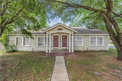 Bryan Multi Family Home For Sale: 1900 Echols Street