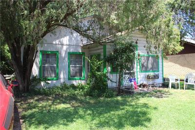 Navasota Single Family Home For Sale: 1003 Piedmont Street