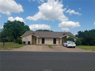 Brazos County Multi Family Home For Sale: 2401 Cornell Drive