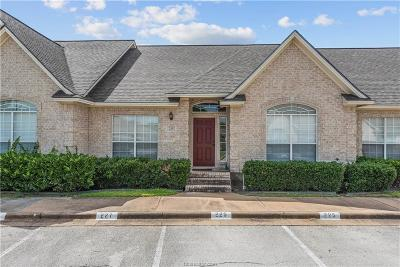 College Station TX Condo/Townhouse For Sale: $169,900