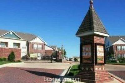 College Station TX Condo/Townhouse For Sale: $148,500