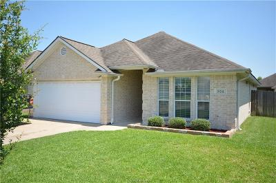 Brazos County Single Family Home For Sale: 908 Gardenia Street