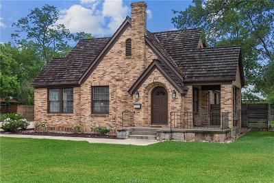 College Station Single Family Home For Sale: 211 Pershing
