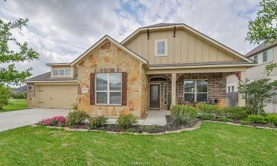 College Station Single Family Home For Sale: 4412 Hadleigh