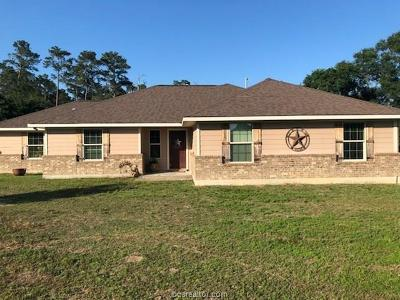 Grimes County Single Family Home For Sale: 5499 Fm 1774 Road
