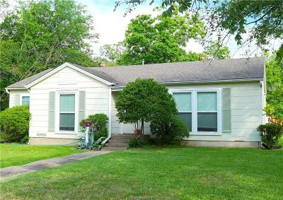 College Station Single Family Home For Sale: 505 Bolton