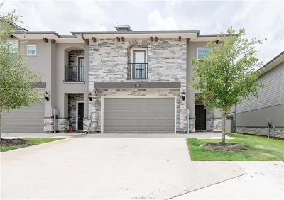 College Station TX Condo/Townhouse For Sale: $259,900