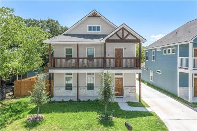 Bryan , College Station Single Family Home For Sale: 124 Richards Street #B