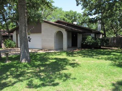 Bryan Single Family Home For Sale: 4425 Old Hearne Road