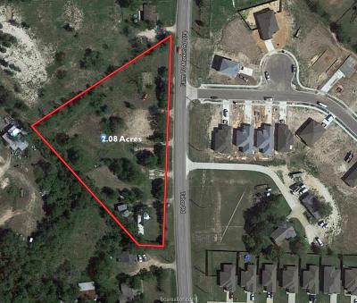 bryan Residential Lots & Land For Sale: 2510 Tabor Road