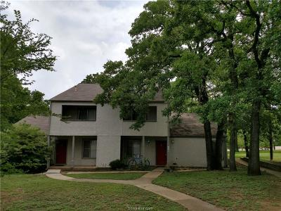 Brazos County Multi Family Home For Sale: 3201 Cougar Trail