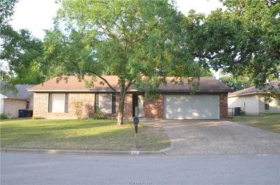 College Station TX Single Family Home For Sale: $184,900