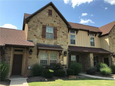 College Station TX Condo/Townhouse For Sale: $245,000