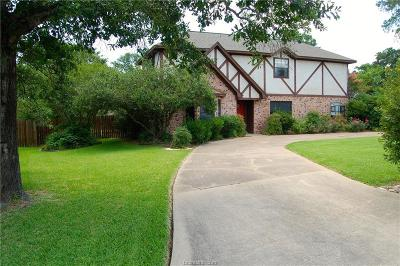 Bryan , College Station  Single Family Home For Sale: 2805 Brothers Boulevard